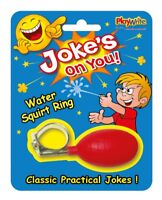Joke's On You! Water Squirt Ring - Classic Practical Joke Novelty Trick Prank