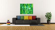 GREEN ABSTRACT Original Art PAINTING DAN BYL Modern Contemporary Huge 4x5 ft