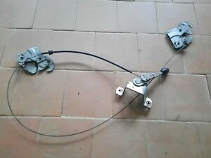 BmW E3 Hood Lock + Bowden Cable + Lever