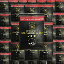 50x Tüten Packs Rewe DFB WM 2018 Russland Sammelkarten
