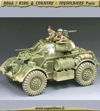 KING & COUNTRY - DD60 - Staghound Amoured Car Set - En boite d'origine