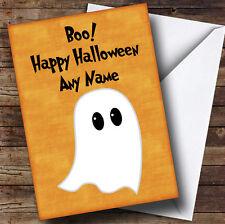 Ghost Personalised Halloween Card