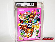 Mario Party 2 Nintendo JP N64 Brand New Sealed VGA 85+ Gold Mint NES SNES