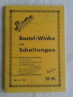 Budich Bastel-Winke und Schaltungen, Budich-Bauplan-Serie und Zweikreis-Dreier