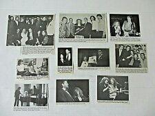 CAROLE KING original magazine clippings LOT of 10 rare 1980 - 1990