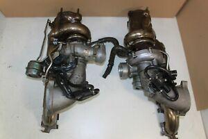 2 Turbolader Turbocharger 07L145701J 07L145702J Audi RS6 4F 5.0 V10 BUH