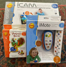 Lot Of 3 Comfy Kids Learning Software, Remote, Game Console—Ages 4+—NEW