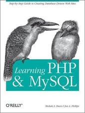 Learning Php and MySql by Jon A. Phillips and Michele E. Davis (2006, Paperback)