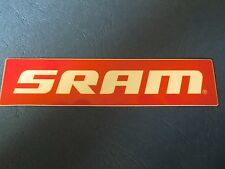 Aufkleber Radsport SRAM 110 x 25 mm Fahrrad Mountainbike