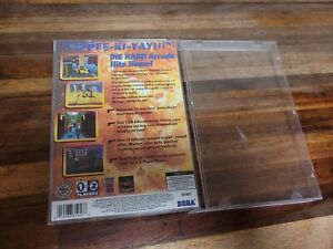 **AUTHENTIC COVER ART ONLY** Hard Arcade Sega Saturn **COVER ART ONLY** SEE DESC