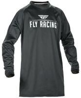 FLY RACING WINDPROOF TECHNICAL MOTO JERSEY BLACK SIZE LARGE LG 370-800L