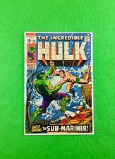 Incredible Hulk #118 (1969): Hulk vs Sub-Mariner! FN+ (6.5)!