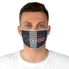 Nintendo Controller Game On Fabric Face Mask