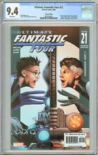 Ultimate Fantastic Four #21 CGC 9.4 WP (2005) 2092204025 Variant Edition