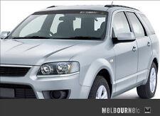MELBOURNE DEMONS AFL TEAM BLACK BLOCK OUT CAR WINDOW VISOR STICKER MOONLIGHT EDT