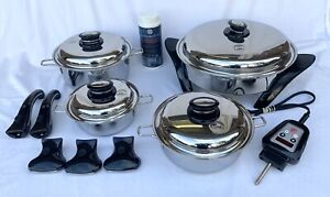 SALADMASTER PERSONAL SET 316Ti STAINLESS STEEL + Electric Skillet Latest Model