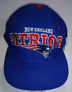 Vintage Starter NFL Pro Line 1996 Patriots Training Camp Snap Hat Cap w/ Tags