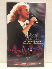 JOHN FARNHAM & THE MELBOURNE SYMPHONY ORCHESTRA LIVE! ~ AS NEW VHS VIDEO