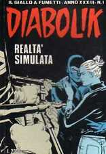 fumetto DIABOLIK ANNO XXXIII numero 1