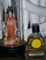 miniature de parfum perfume TEMPORA DE A. BLANC   ancienne  pleine sans boite