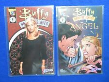 BUFFY THE VAMPIRE SLAYER 1/2 &  BUFFY  ANGEL 1/2   WIZARD PRESS