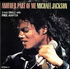 MICHAEL JACKSON - ANOTHER PART OF ME - 3 INCH 8 CM CARDBOARD SLEEVE CD MAXI