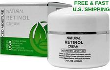 RETINOL Moisturizer Snow Algae Plant & Fruit Extracts Anti-Aging ANTIOXIDANTS