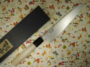 Ashi Hamono Ginga Swedish Stainless Wa-Gyuto Japanese Knife 210mm