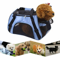 Portable Soft Fabric Pet Carrier Folding Dog Cat Puppy Travel Transport Bag