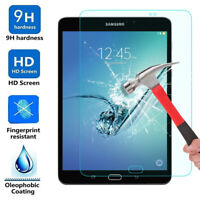 """Tempered Glass Film Screen Protector Guard For 7.0"""" 8.0"""" Samsung Galaxy Tablet"""