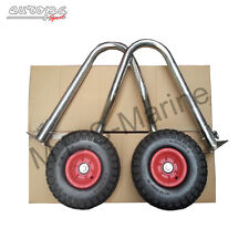 INFLATABLE BOAT LAUNCHING WHEELS FOR V AIR FLOOR FIT EUROPA,HONDA,ZODIAC