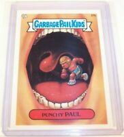 2003 Garbage Pail Kids GPK ANS1 - Punchy Paul (Double Blue Line) Error ** NICE**