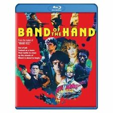 Blu Ray BAND OF THE HAND. Stephen Lang. Region free. New sealed.