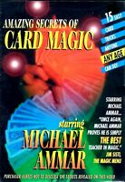 Amazing Secrets of Card Magic by Michael Ammar (DVD, 2004) Card Tricks