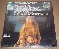 Vishnevskaya/Rostropovich TCHAIKOVSKY Iolanta - Erato NUM 75207 SEALED