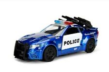 1 32 Transformers 5 Barricade Diecast Model Police Vehicle Car Toy