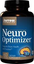Jarrow Formulas Neuro Optimizer Soporte Cerebro Salud & Función 60 Cápsulas