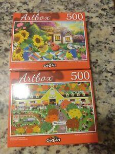 500 piece jigsaw puzzles Artbox
