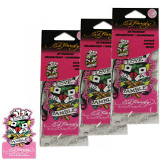 3pc Ed Hardy by Christian Audigier Love is Gamble Air Freshener Patchouli Scent