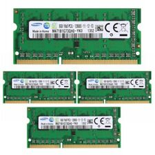 8GB 16GB 32GB PC3L-12800 DDR3L-1600M​Hz Per Samsung Laptop SO-DIMM RAM RL1IT