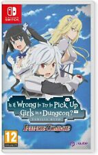 Is It Wrong To Try To Pick Up Girls in A Dungeon? Infinite Nintendo Switch (New)