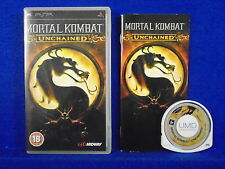 psp MORTAL KOMBAT UNCHAINED Arcade Action Game Playstation PAL ENGLISH Version