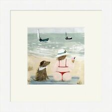 Hannah Cole Framed Print, Wind is getting Up, White, Light wood or Black Frame