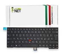 Tastiera ITALIANA compatibile con Lenovo ThinkPad T450s L440 con Trackpoint