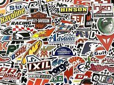 100 Vintage Motocross Motorcycle Car Atv Racing Bike Helmet Decals Lot Sticker