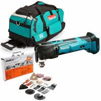 Chargeur /& Cube Sac Makita DTM51Z 18 V Multi-outil de verrouillage avec 1 x 3Ah Batterie