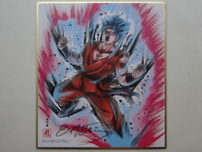 DRAGON BALL SUPER SHIKISHI ANIME CEL HAND-SIGNED by AKIRA TORIYAMA K10 JAPAN Z