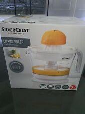 Silvercrest Citrus Juicer Electric Fresh Fruit Orange Juice Kitchen