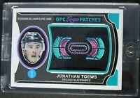 2018-19 Upper Deck O-Pee-Chee, Logo Patches #P-89 Jonathan Toews, Blackhawks