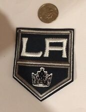 "Los Angeles Kings Logo Embroidered Iron On Patch 3""x2"""